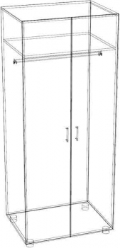 гардероб гб-2 ЛамАрт