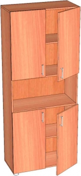 шкаф ст-1.5 ЛамАрт