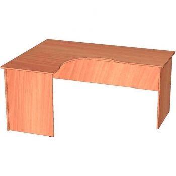стол угловой скр-4 (левый) ЛамАрт