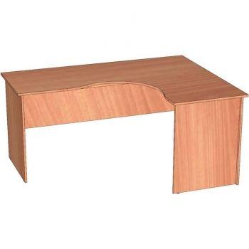 стол угловой скр-4 (правый) ЛамАрт